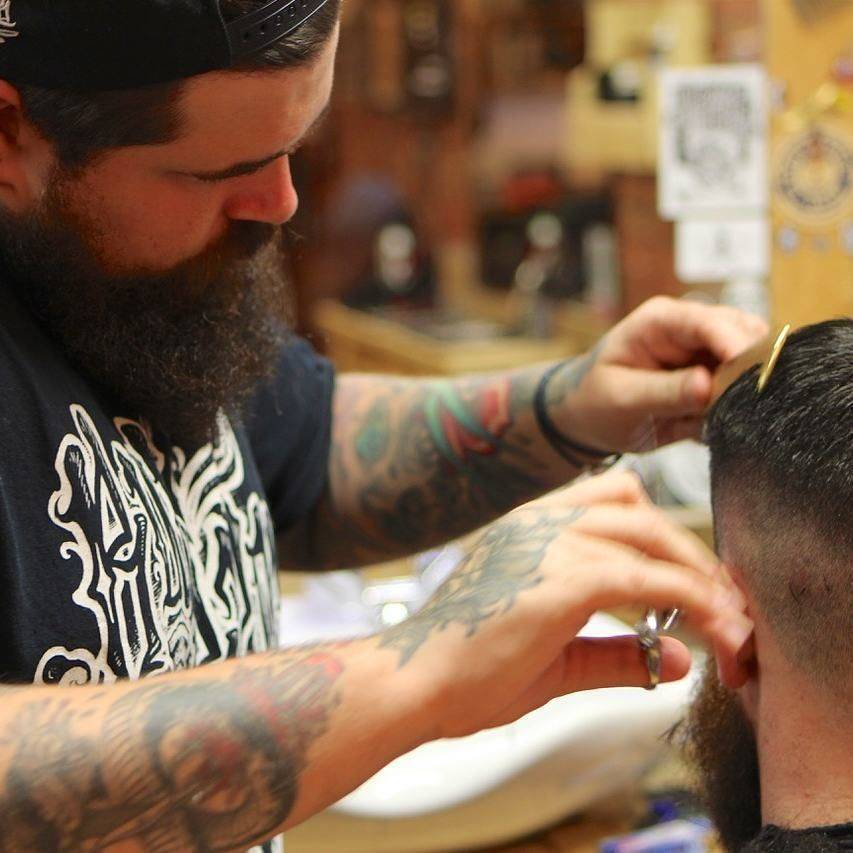 Durham barbers pledge for us to back local business and save lives.