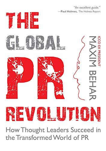 The Global PR Revolution by Maxim Behar among top 5 PR books in the world for 2020