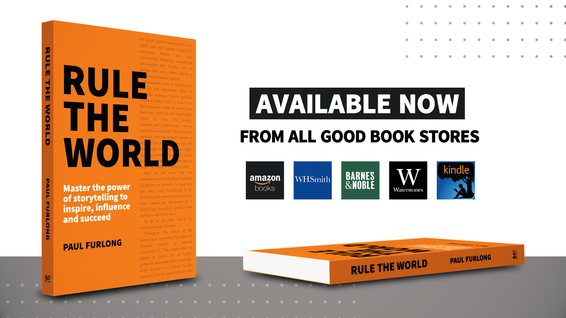 Rave reviews for new Paul Furlong book on power of corporate storytelling