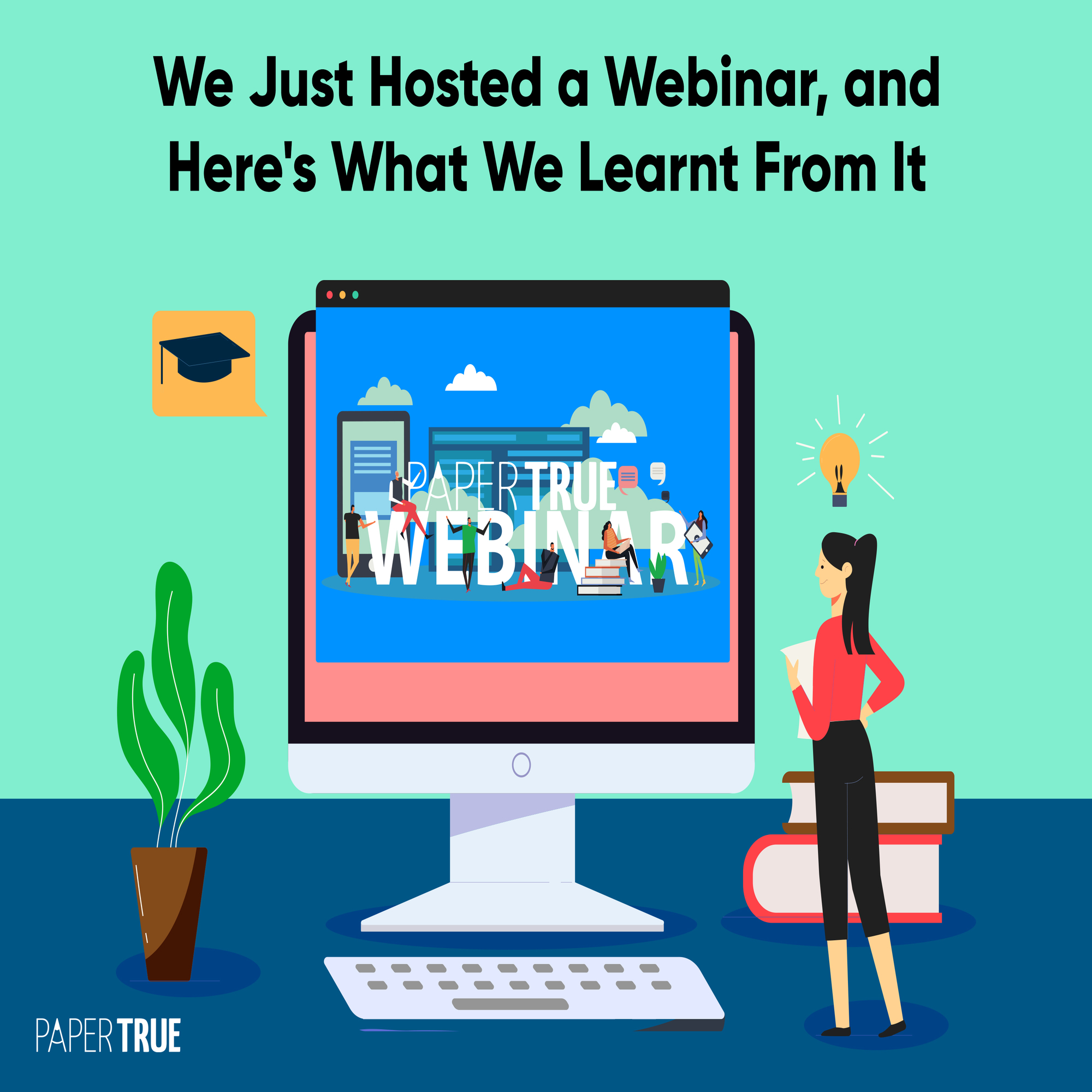 News Update: We Hosted Our First Webinar!