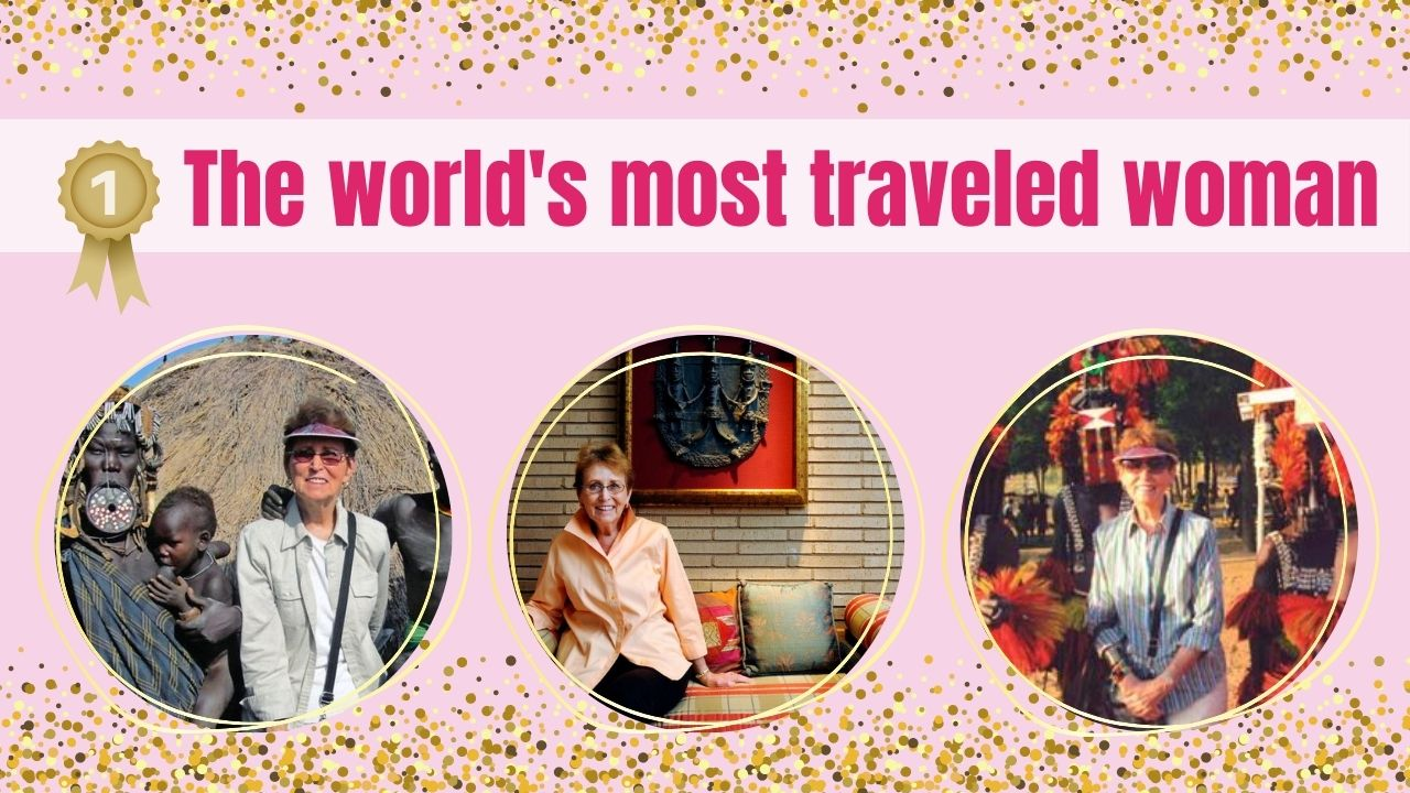 Meet Audrey, The World's Most Well Traveled Woman