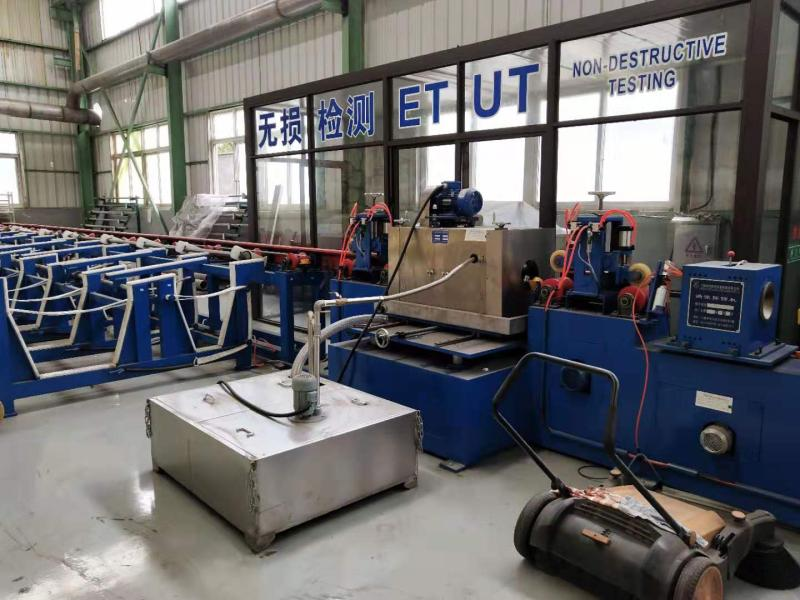 Non-destructive Testing of ERW Straight Seam Steel Pipe