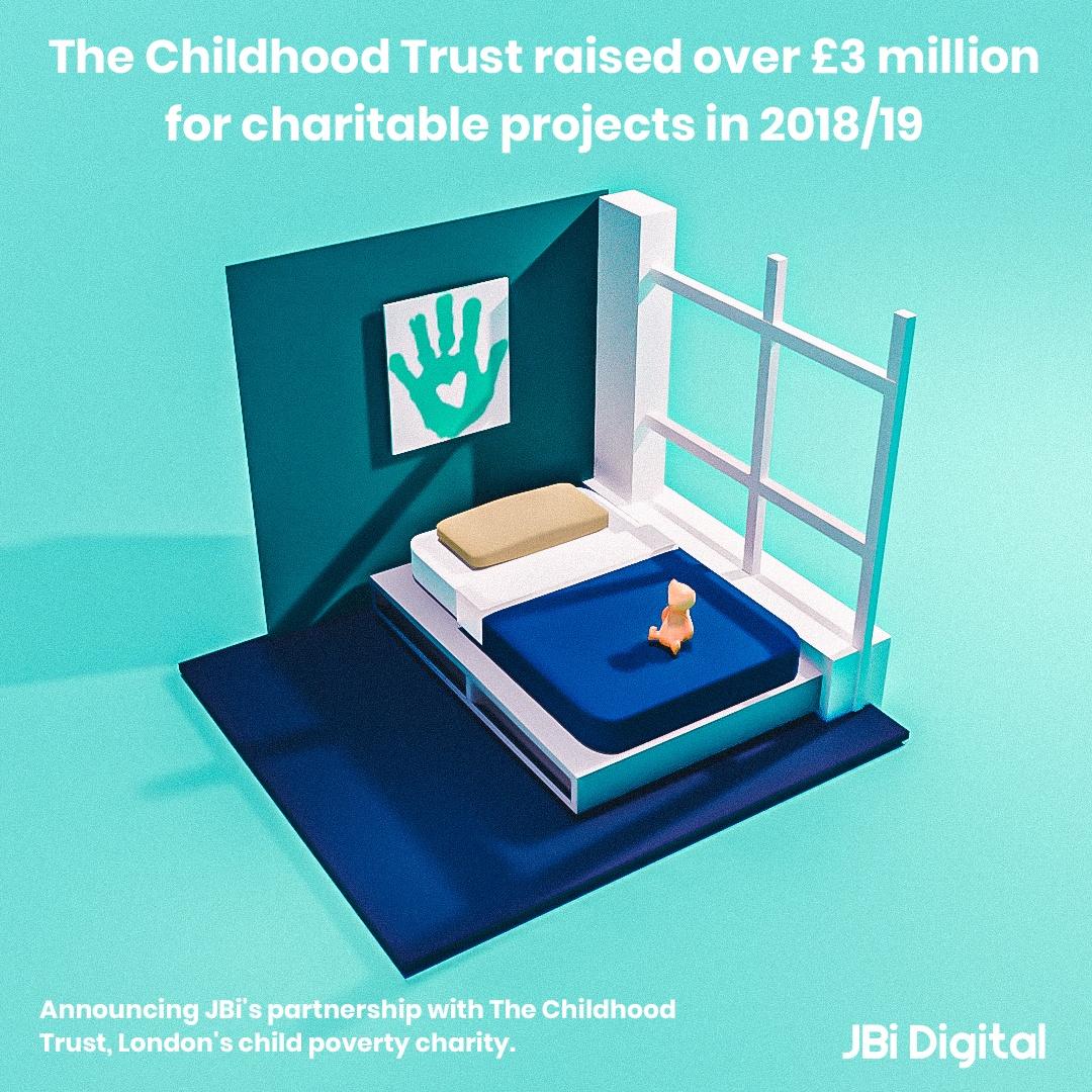 The Childhood Trust Appoints Jbi As Its Long Term Digital Partner