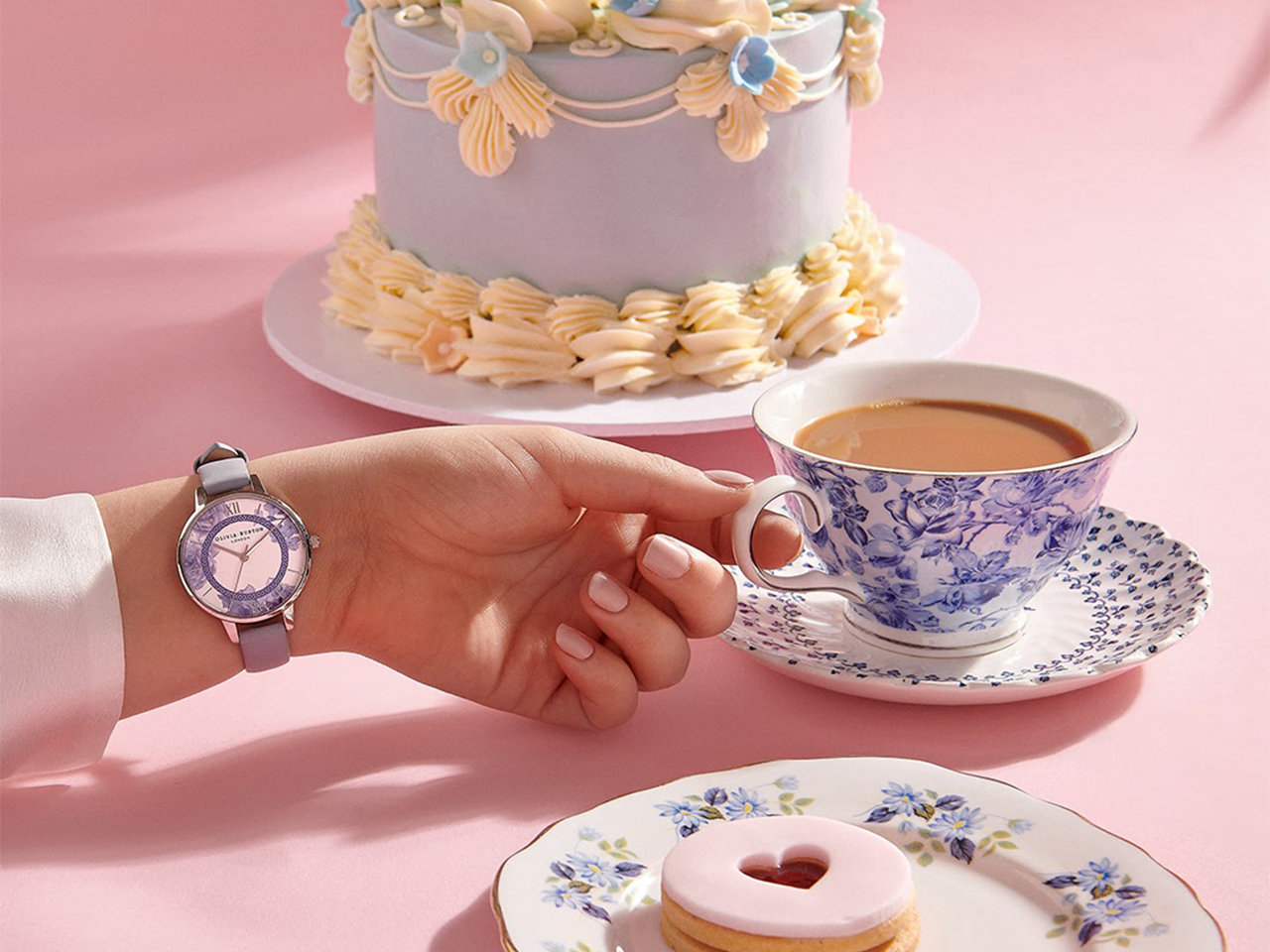 OLIVIA BURTON COLLABORATES WITH PEGGY PORSCHEN ON THE LAUNCH OF ITS TEA PARTY COLLECTION