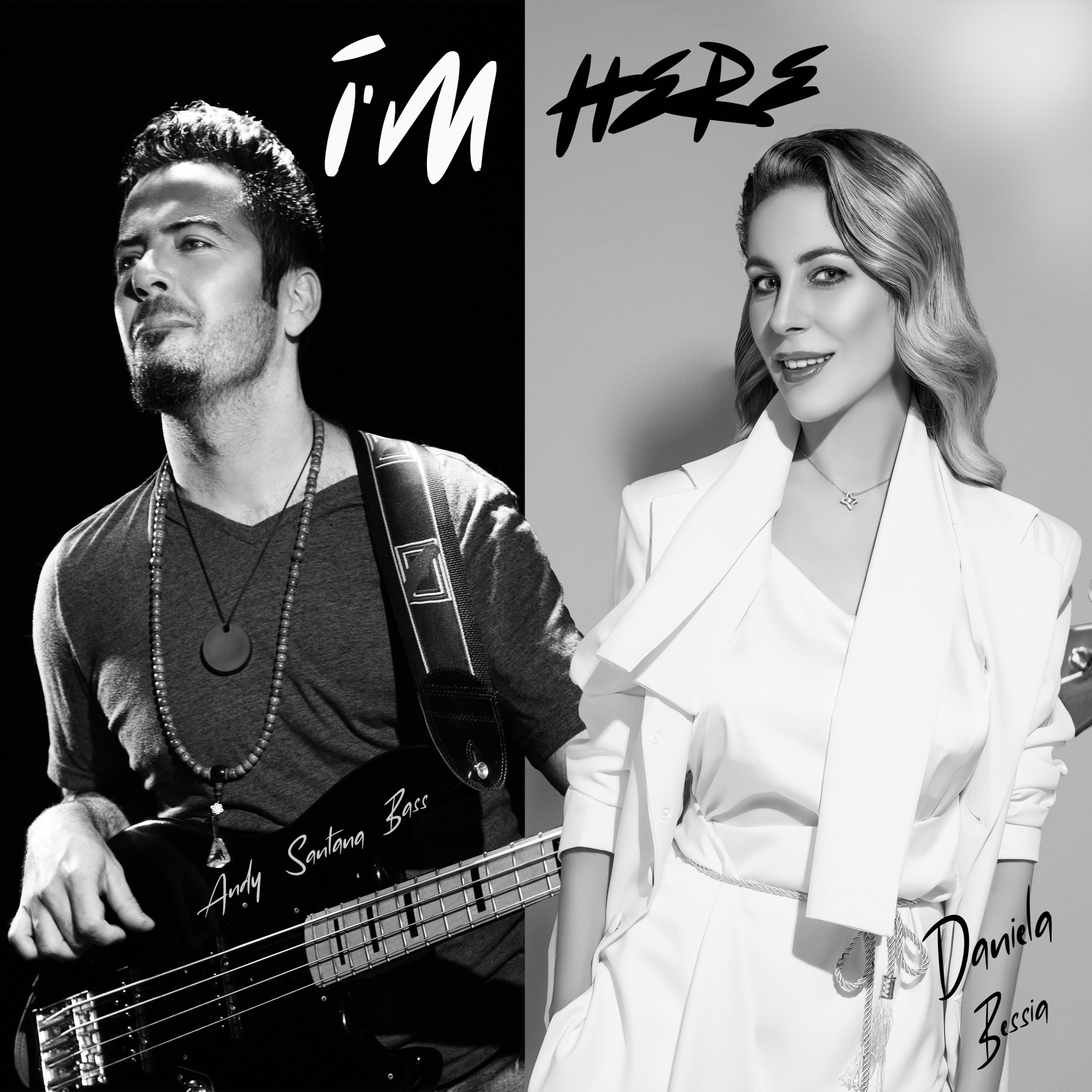 "Daniela Bessia and Andy Santana Bass Release New Album 'I'm Here' Along with a music video ""Crazy"""