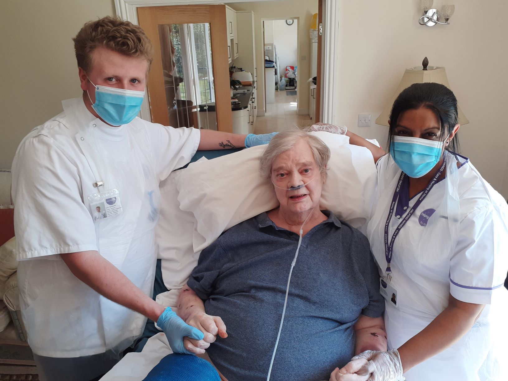 Helping Hands customer and 60s pop star featuring in new UB40 NHS charity single