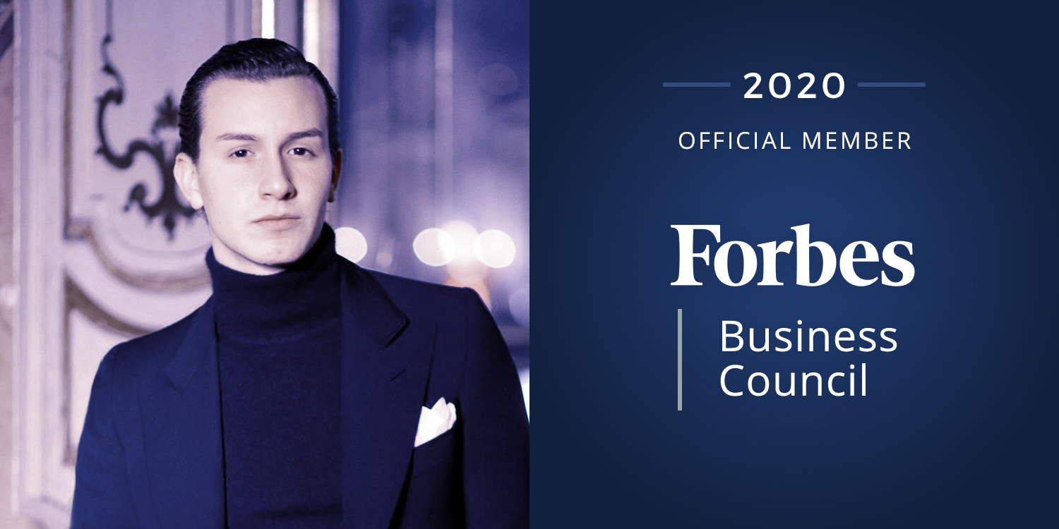Giovambattista Scuticchio Foderaro takes part in Forbes Business Council.