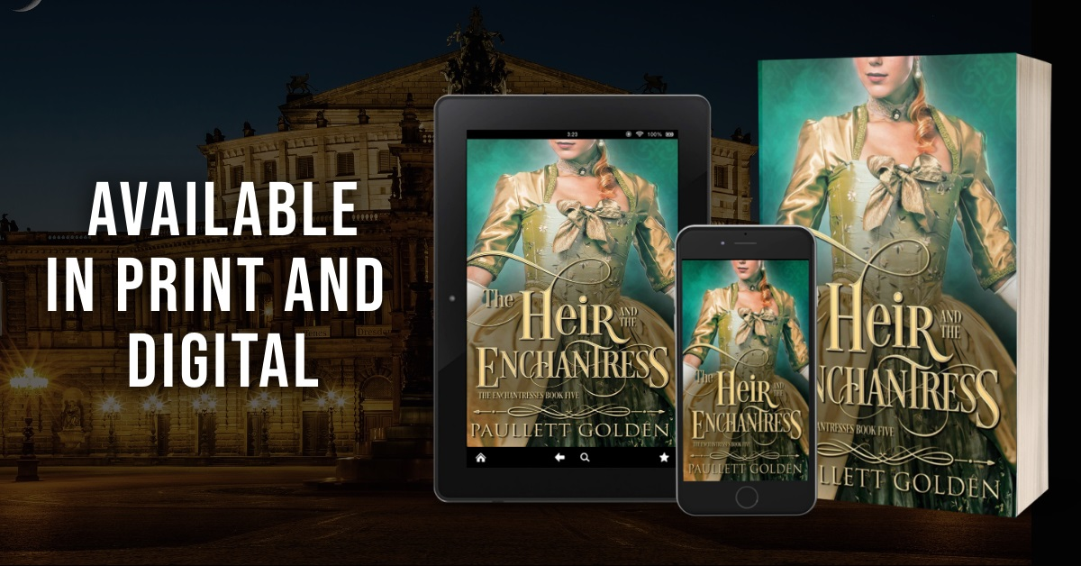 Paullett Golden Releases New Historical Romance - The Heir and The Enchantress