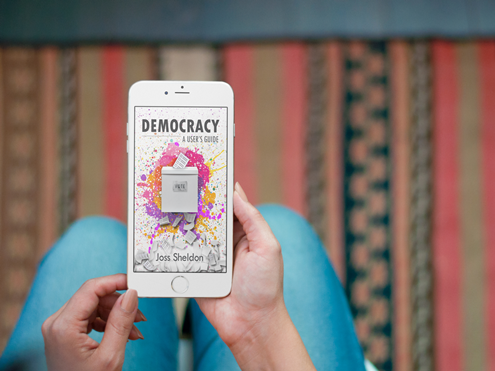 "Joss Sheldon releases ""DEMOCRACY: A User's Guide"""