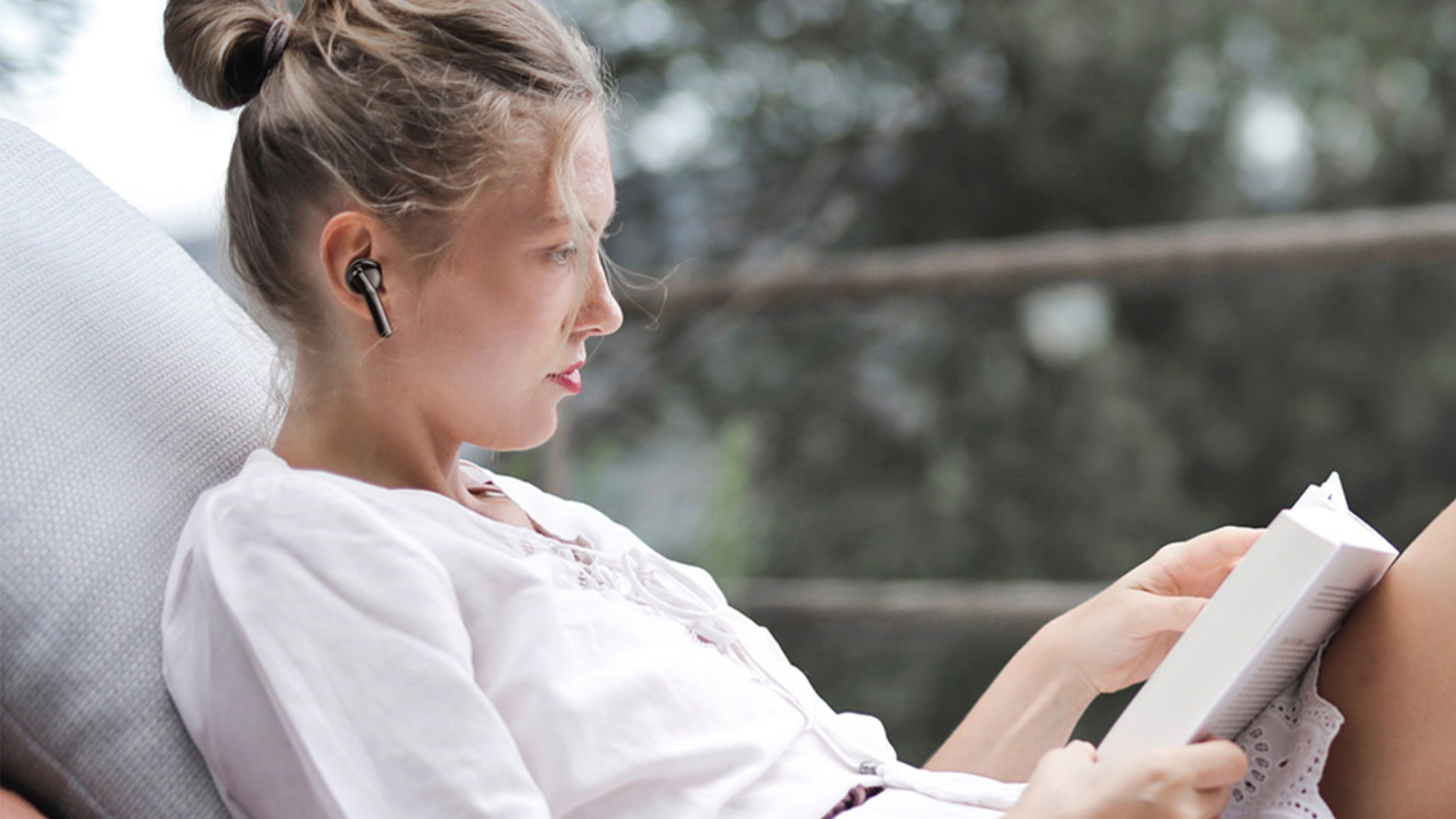 Limited time offer: ONE 5.0 Bluetooth wireless earbuds offer noise cancellation and hands-free calls