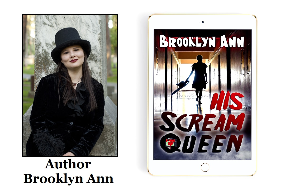 Author Brooklyn Ann Releases New Horror Novel - His Scream Queen