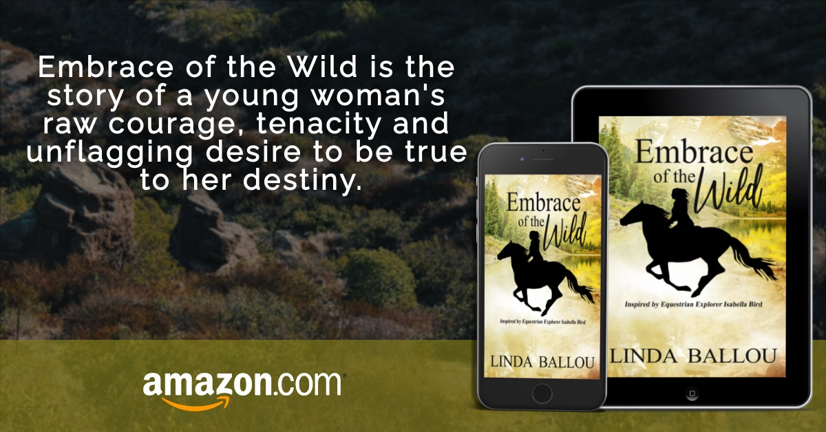 Author Linda Ballou Releases New Historical Novel - Embrace of the Wild