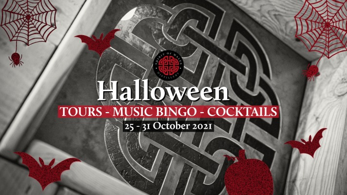 Halloween week Celebrations with the Spirit of Wales Distillery