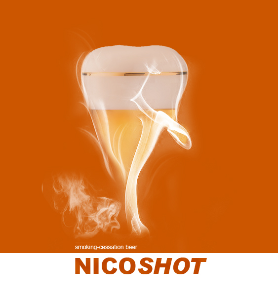 """Nautilus Launches Nicotine Beer: """"NicoShot"""" - A New Brew Designed to Help Drinkers Stop Smoking"""