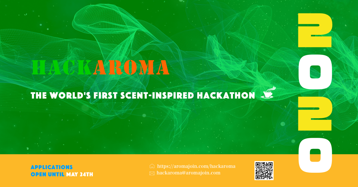 Japanese digital scent startup Aromajoin introduces Hackaroma, the world's first scent-inspired hackathon