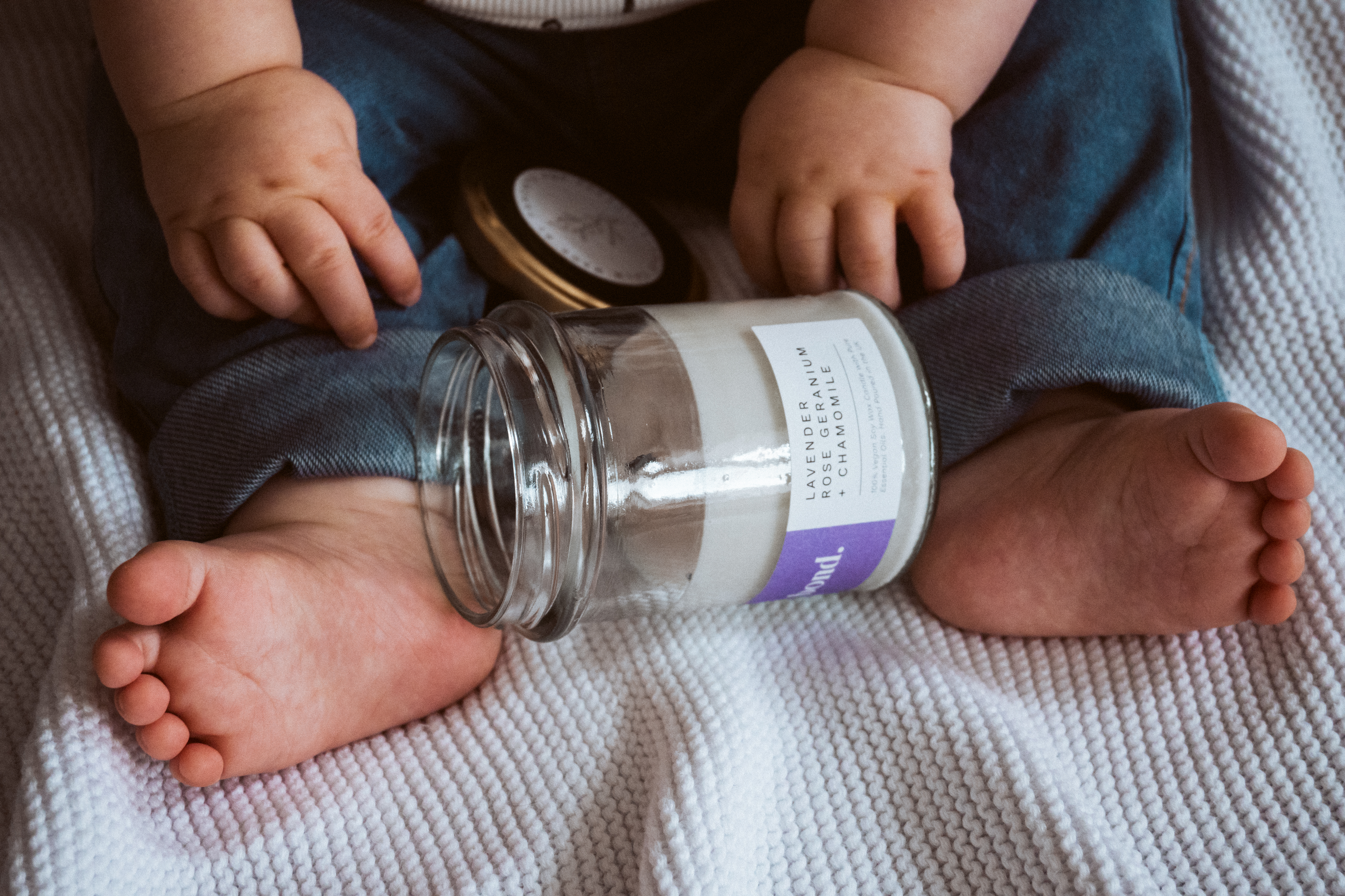 Little Calm pure essential oil soy candles: supporting parents' wellbeing and The Birth Trauma Association