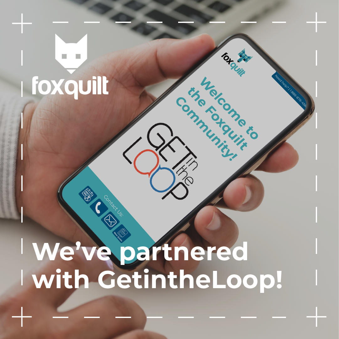 Foxquilt and GetintheLoop Partner to Support Local Businesses with Insurance