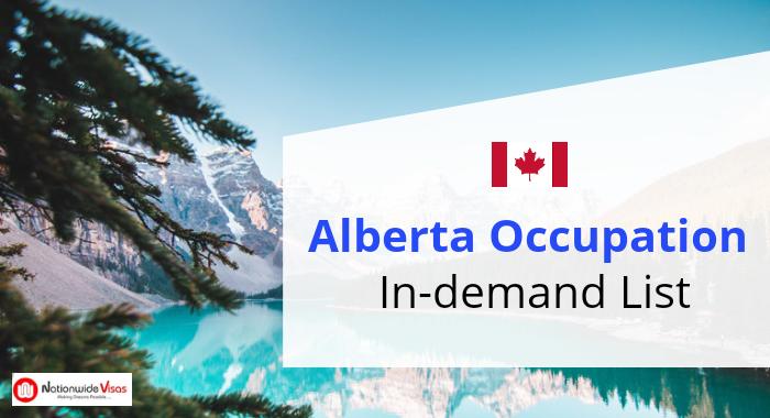 Alberta In-Demand Occupation List