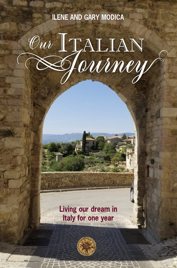 Our Italian Journey is now a book!