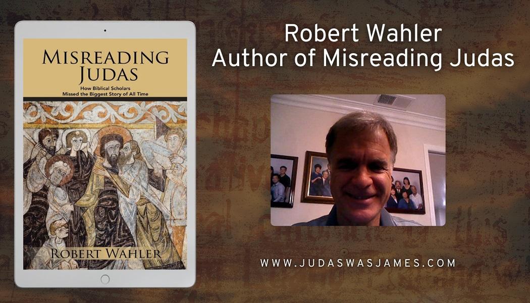 Author Robert Wahler Promotes His Book – Misreading Judas