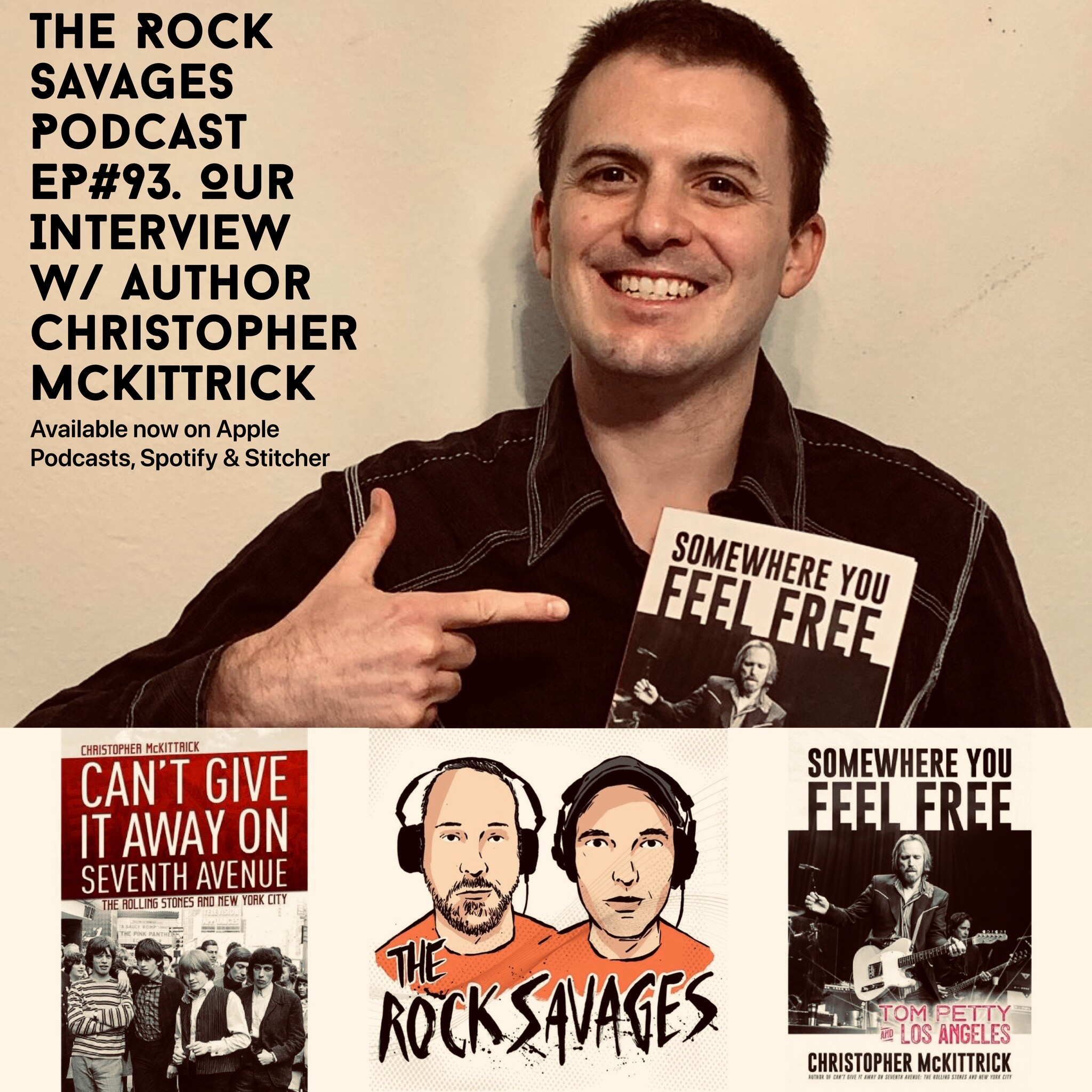The Rock Savages Podcast Interview Tom Petty Author Christopher McKittrick