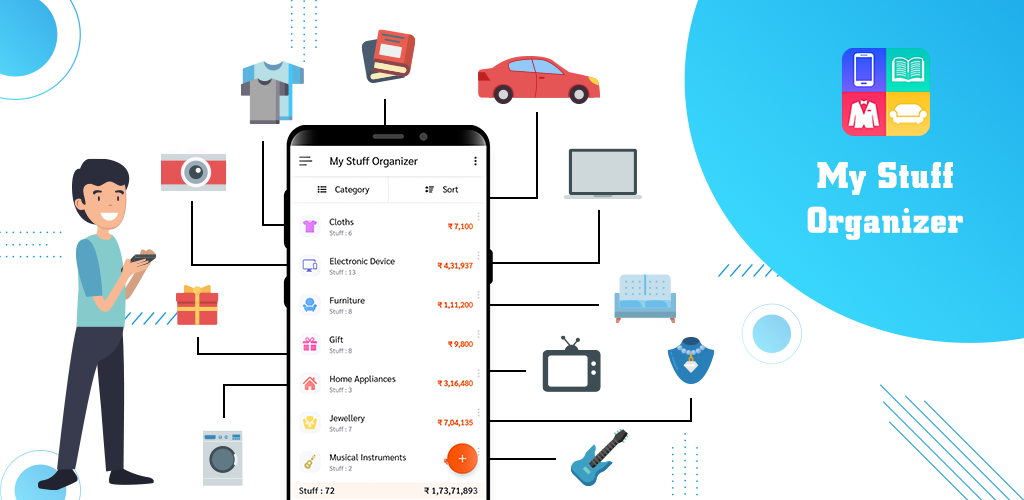 Greencom Ebizz Infotech introduces My Stuff Organizer: For Home Inventory Management - An app to help you arrange your Home Inventory during this quarantine period worldwide.