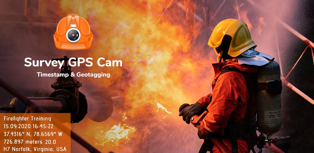 Top Survey GPS map camera: Timestamp & Geotagging