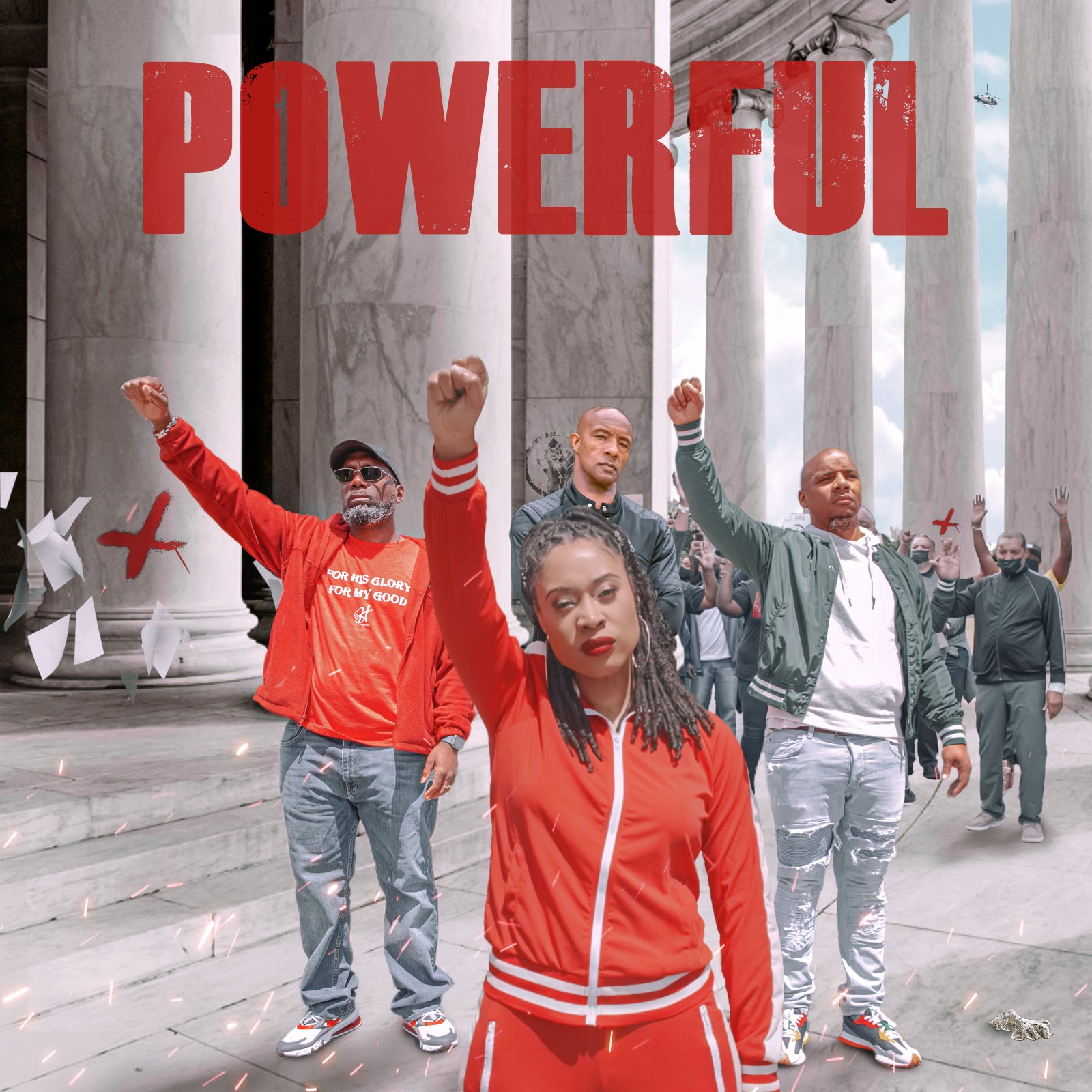 """RISING ARTISTS GRACE COVINGTON, HOLY SMOKES, AND TWYSE RELEASE """"POWERFUL"""" SINGLE ON FEDERAL HOLIDAY JUNETEENTH."""