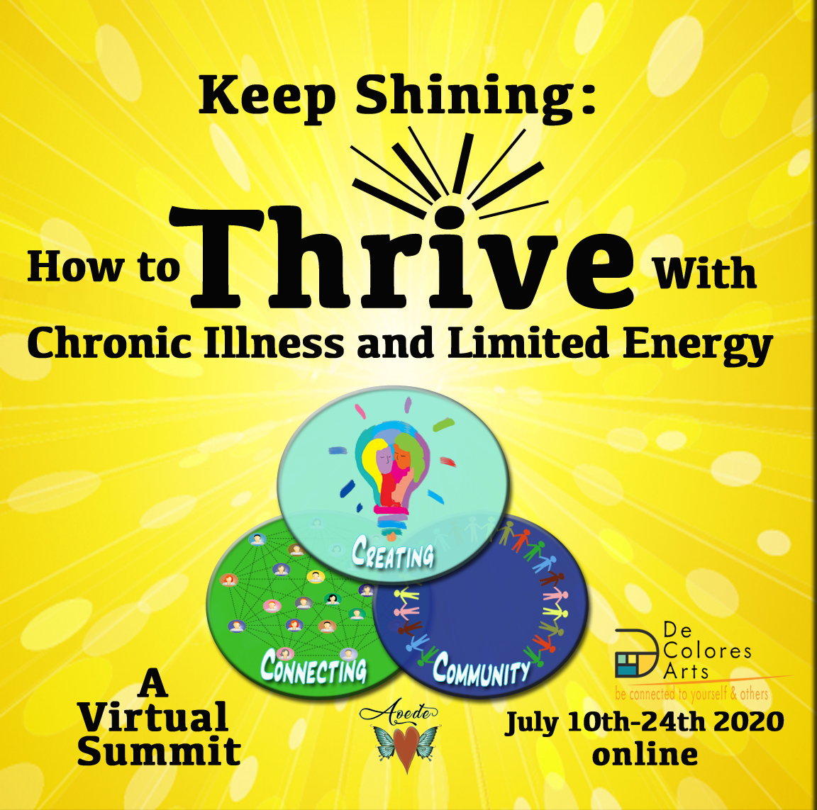 Free Online Summit: How to Thrive With Chronic Illness and Limited Energy