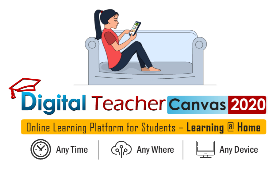 CodePixels launches its new product Digital Teacher Canvas to enable learning at any time  anywhere to students amidst the pandemic.