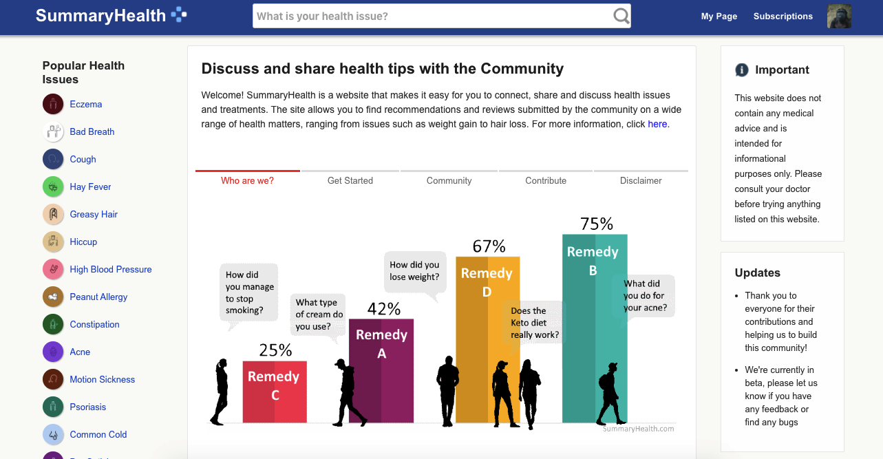 Epochle launches a crowdsourcing website for health issues