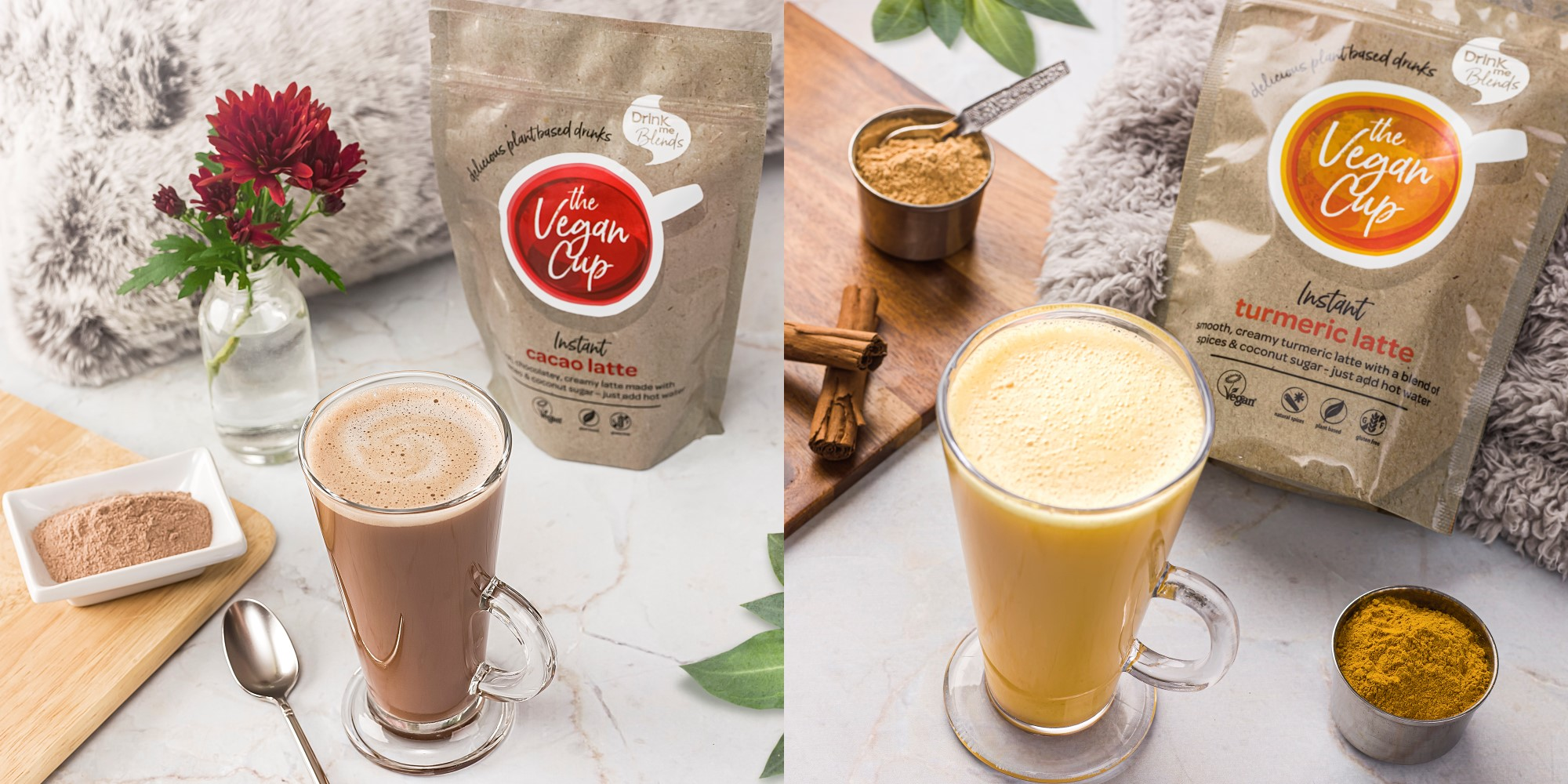Introducing The Vegan Cup from Drink me Blends
