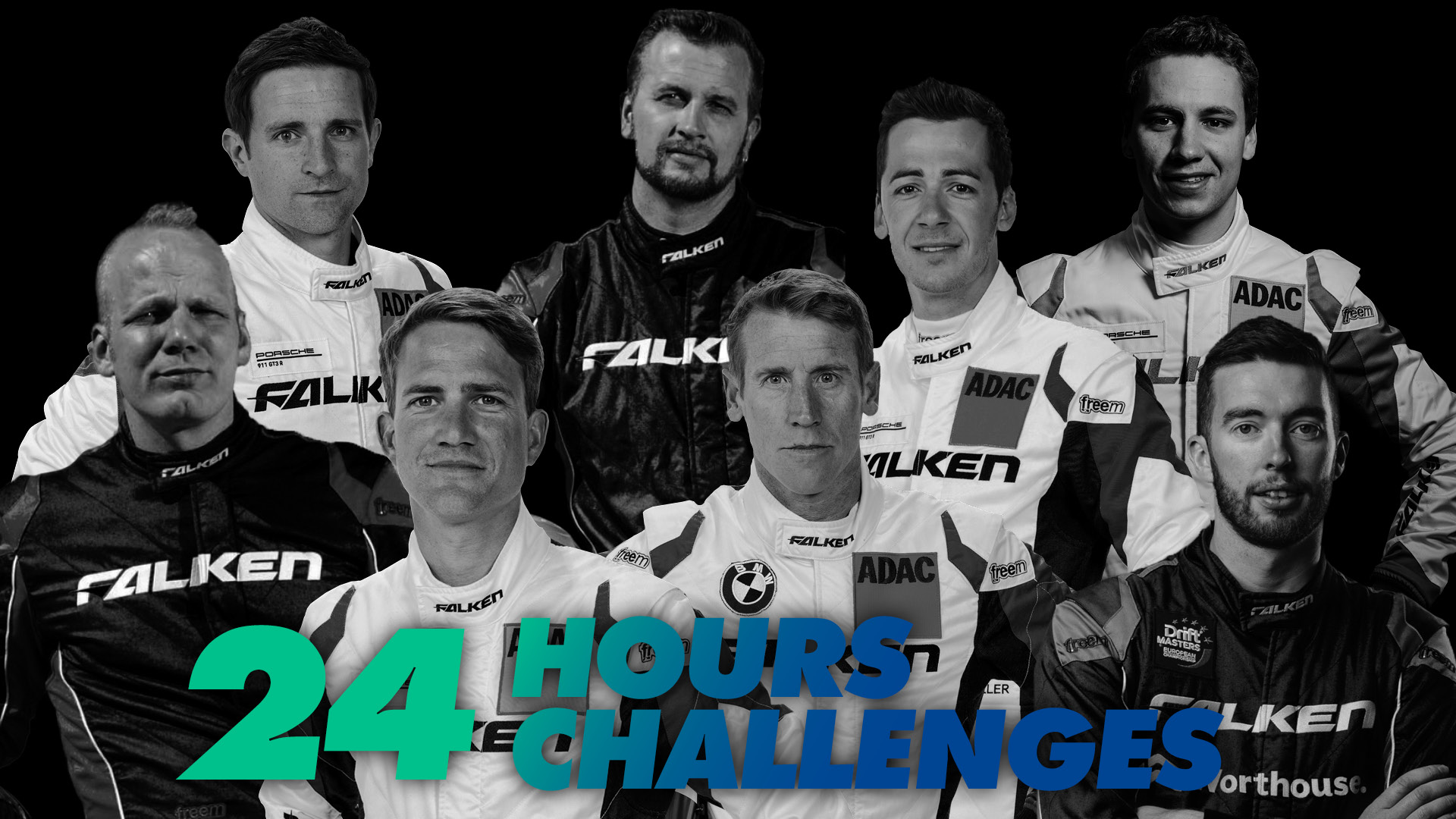 24 challenges in 24 hours – Falken's drivers get an alternative endurance event with #24in24h