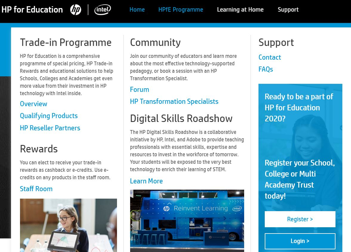 Revamped HP for Education programme on track for most successful year ever as channel partners warmly welcome enhanced offer
