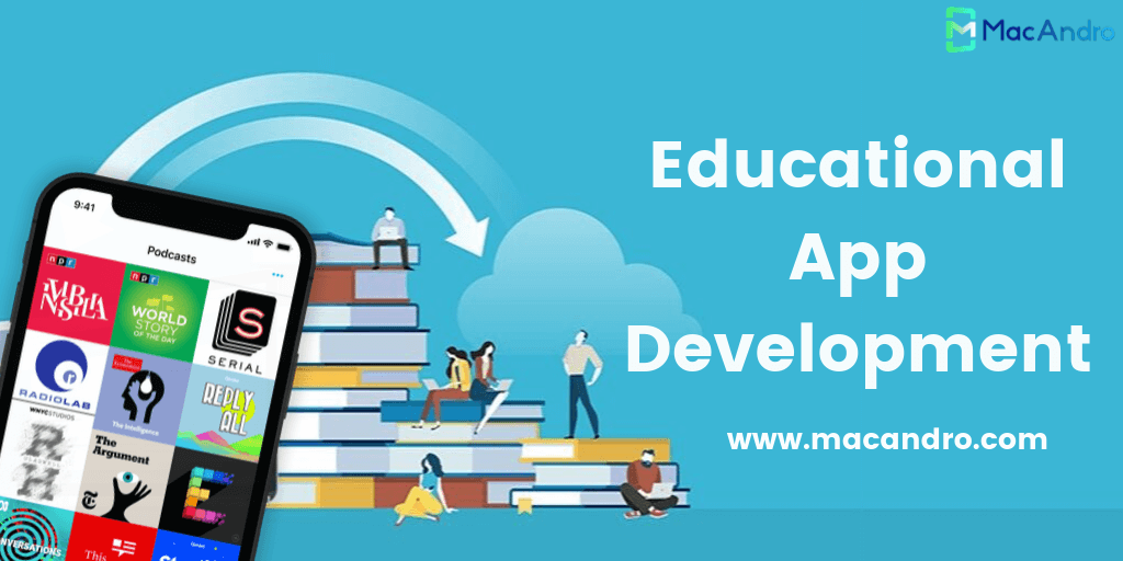 MacAndro Introduced an Advanced E-Learning App with Premium Features
