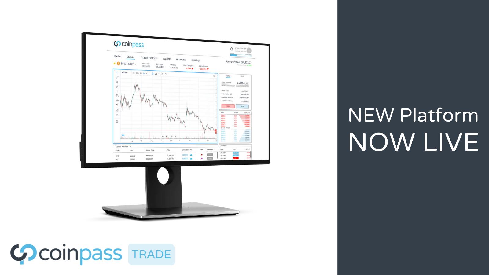 coinpass Launch Innovative Crypto Trading Platform