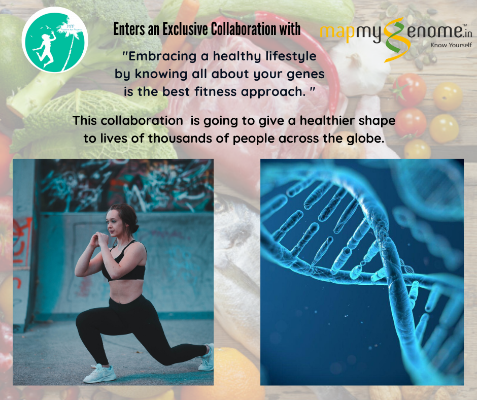 Passion for Fitness (PFF) takes huge leap in Fitness Industry by Collaborating with Mapmygenome to Introduce Genomics based assessments in its Offerings