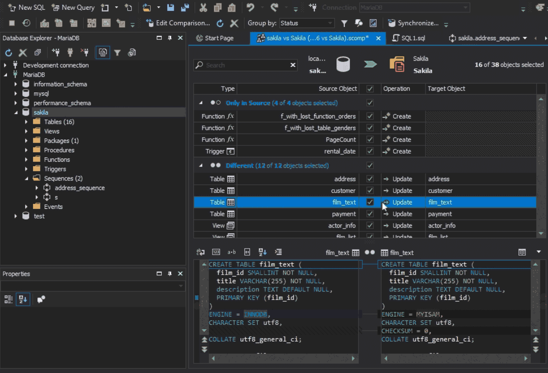 Devart Presents Dramatically Improved dbForge Studio for MySQL v.9.0