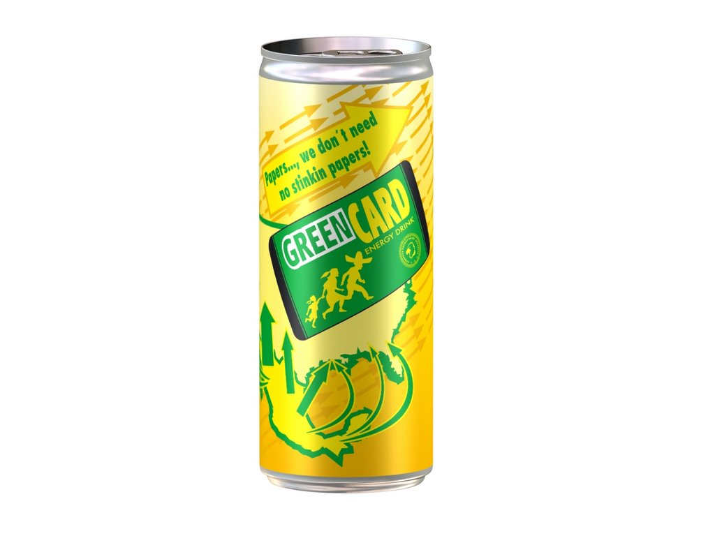 "Nautilus Launches ""GreenCard"" Energy Drink -- Challenging Market Leader Red Bull"