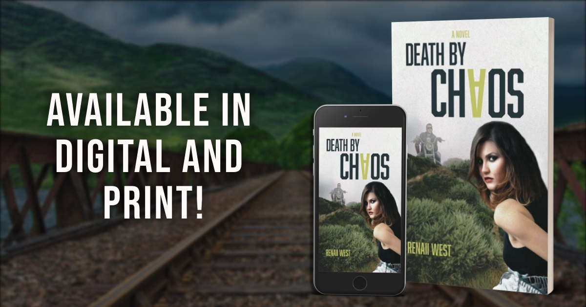 Author Renaii West Releases New Women's Mystery Novel - Death by Chaos