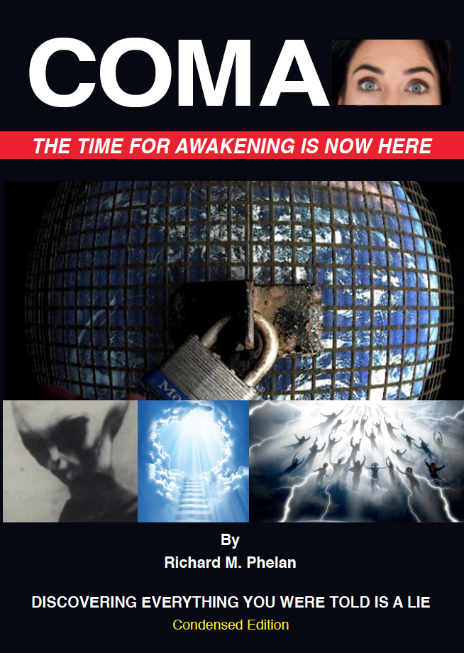 "NEW Book Lauch ""COMA - The Time To Awaken Is Now Here"""