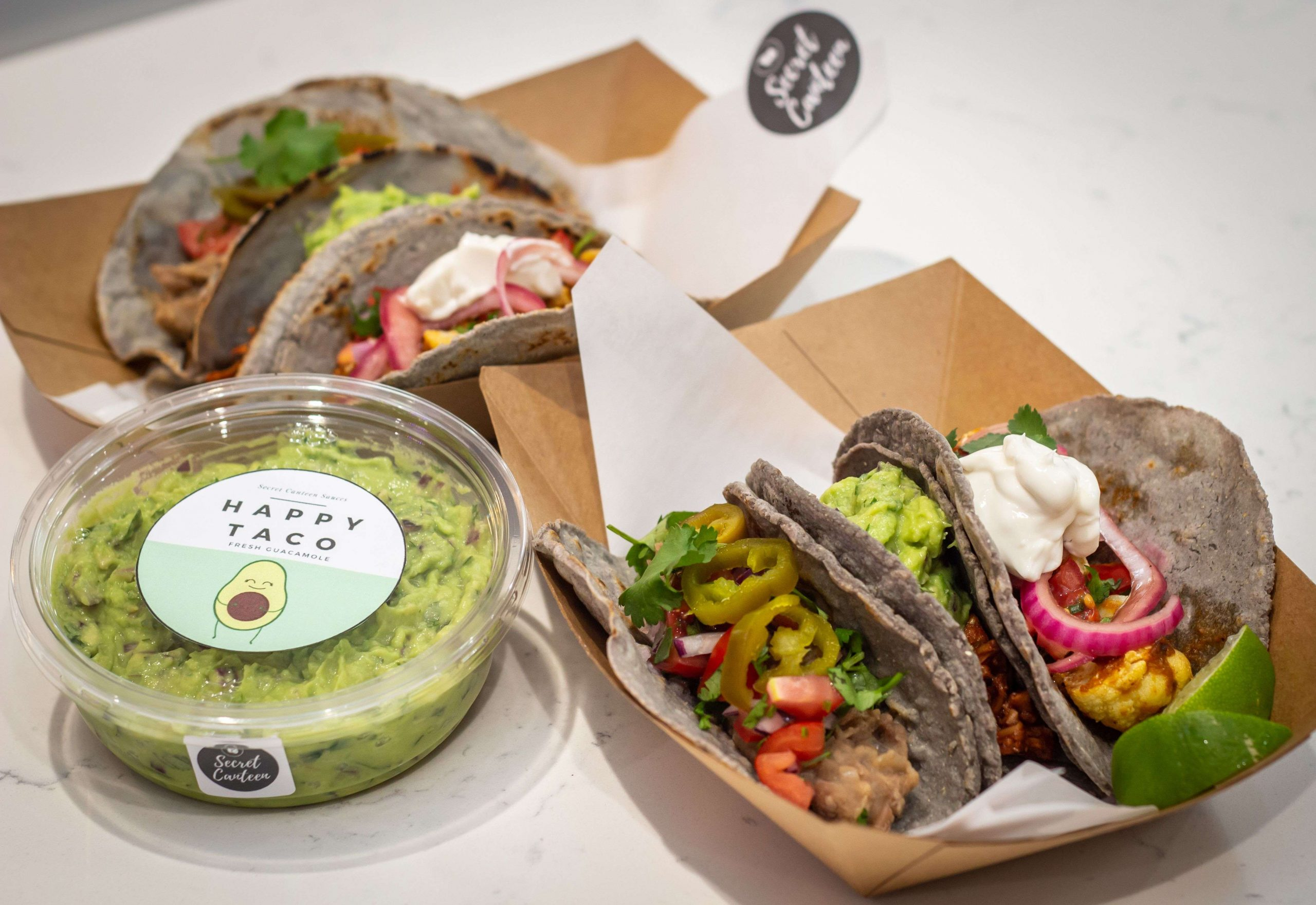 Inclusive vegan food with a Mexican twist – Secret Canteen to launch Happy Taco in October 2020