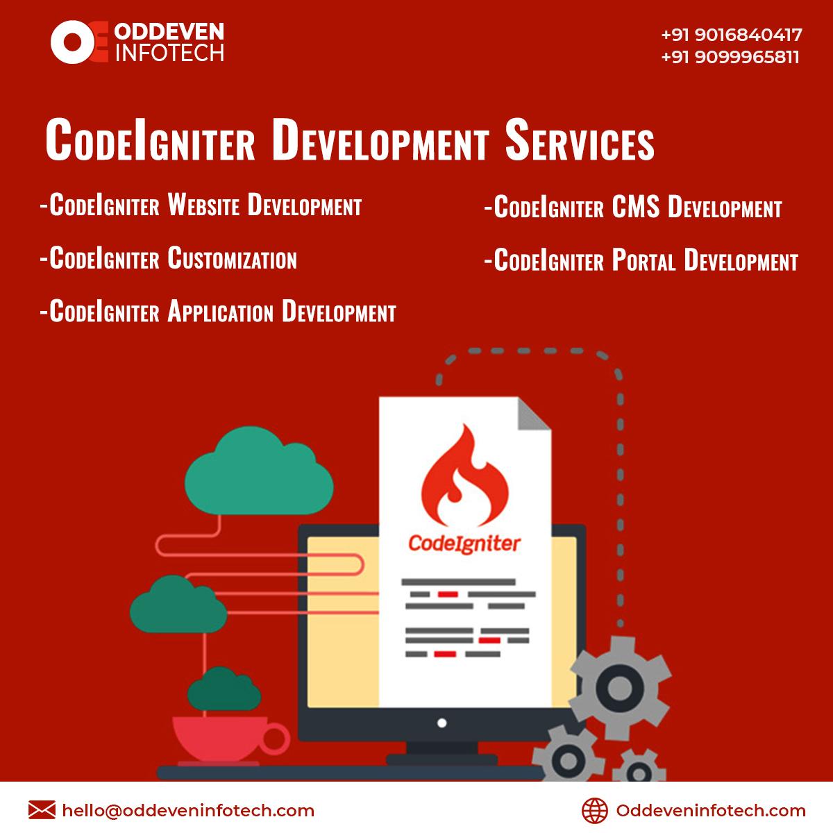 CodeIgniter Development Company | CodeIgniter website development