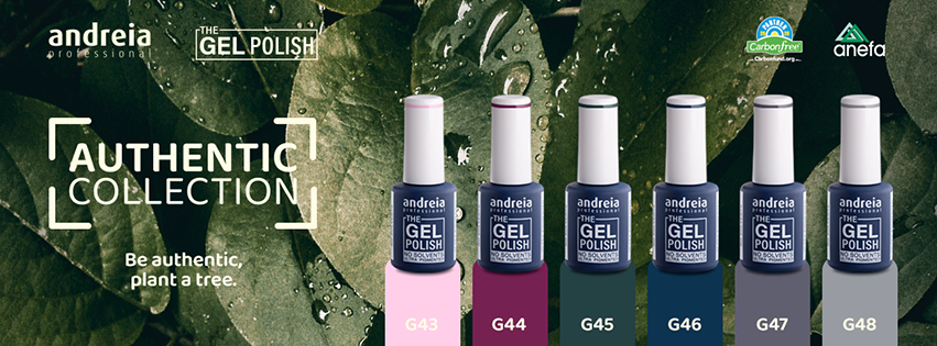 Andreia Professional is Carbon-Free and launches new collection
