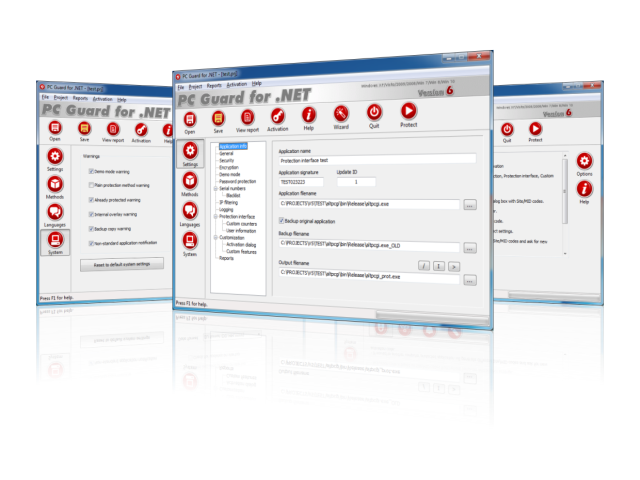 PC Guard Software Copy Protection System 06.00.0720 has been released.
