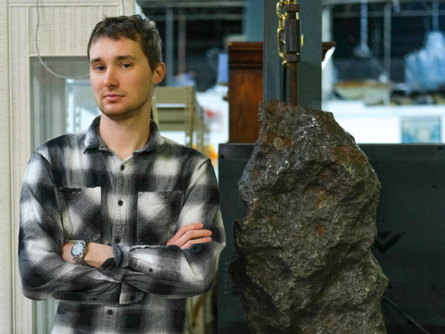 Rare, Museum-Quality, 394-Pound Meteorite will Go Up for Bid in Gallery 63's Online Auction, April 6