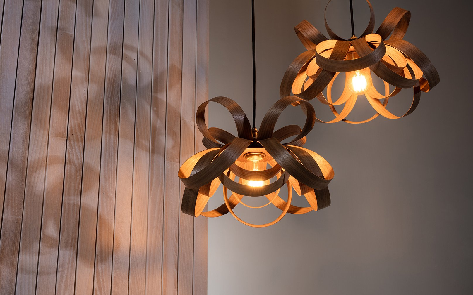 How can you decorate your small space with cluster lighting?