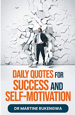 "Dr. Martine Rukengwa Launched Her New Book ""Daily Quotes for Success and Self-Motivation"""