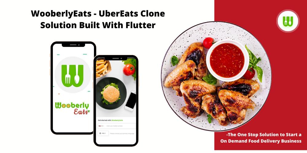 RadicalStart Announcing a New Product Launch - WooberlyEats - An UberEats Clone Script